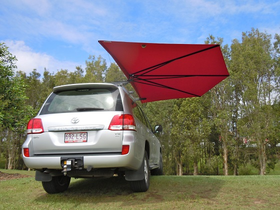 Car Shade CleverShade vehicle awning