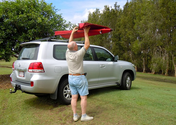 4WD outback Australian awning