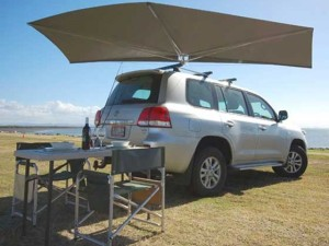 Clevershade Car Shade Vehicle Awning Camping Shade