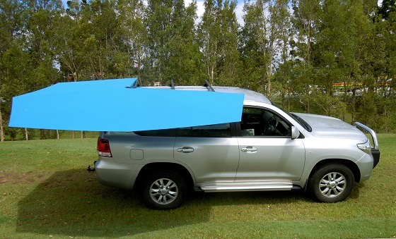 4WD shade awning CleverShade