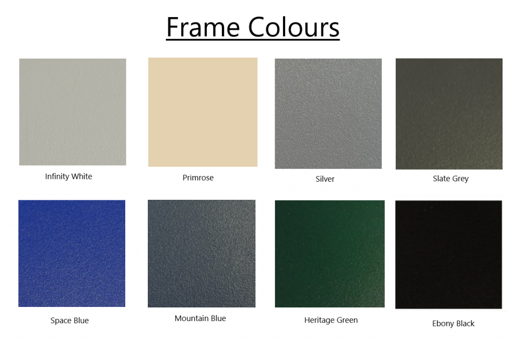 CleverShade Awning - Frame Colours