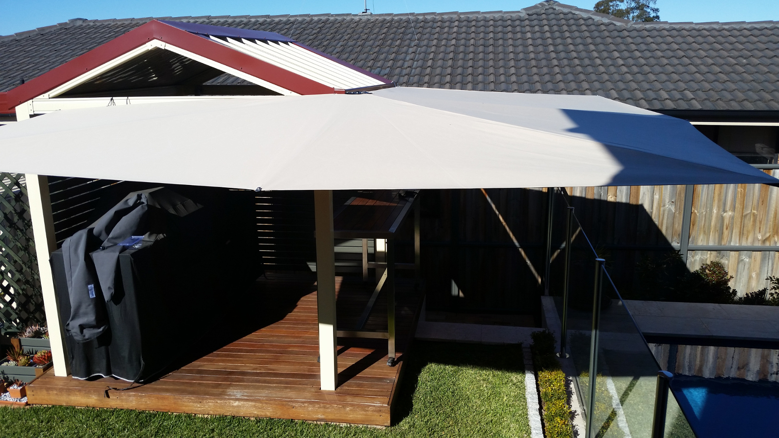 patio shade awning clevershade