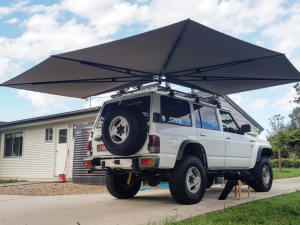 4WD Vehicle Awning Shade Accessory CleverShade Australia