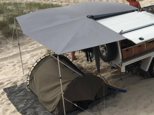CleverShade Vehicle Camping Shade Beach Awning