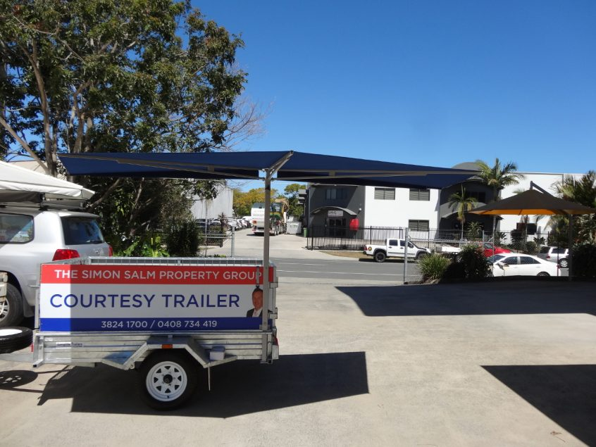 CleverShade Trailer Shade Awning