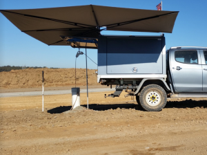 Outback Vehicle Shade Awning 4WD and Ute accessories