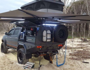 4WD CleverShade Vehicle Shade Awning Beach Outdoor Enthusiasts