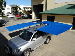 Vehicle awning 4wd CleverShade Australian Made